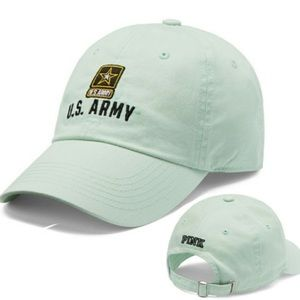 VS PINK U.S. ARMY EMBROIDERY HAT